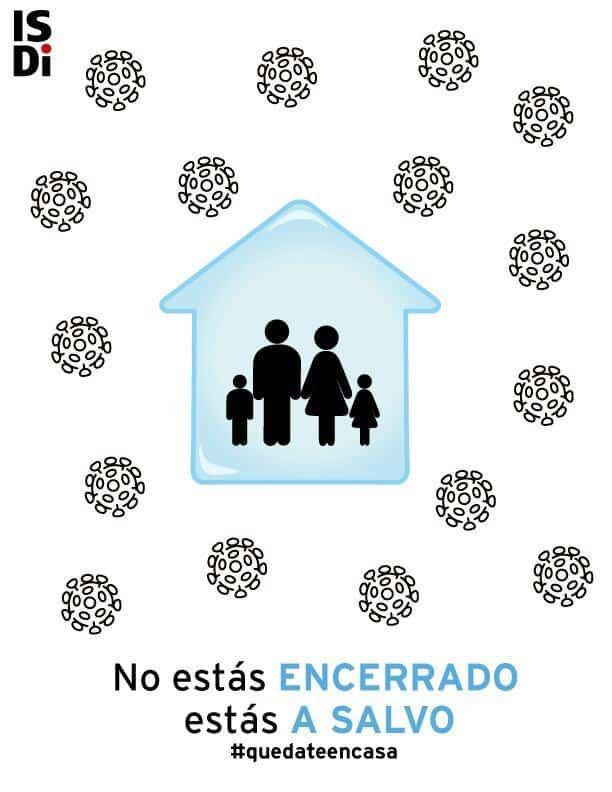 Campaña Quédate en Casa ISDI