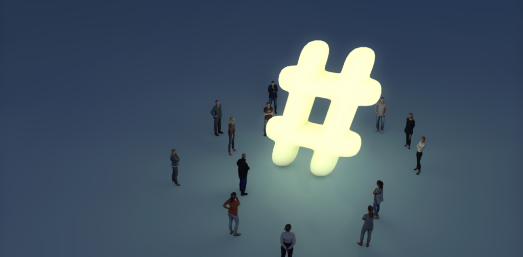Uso de Hashtag en redes sociales